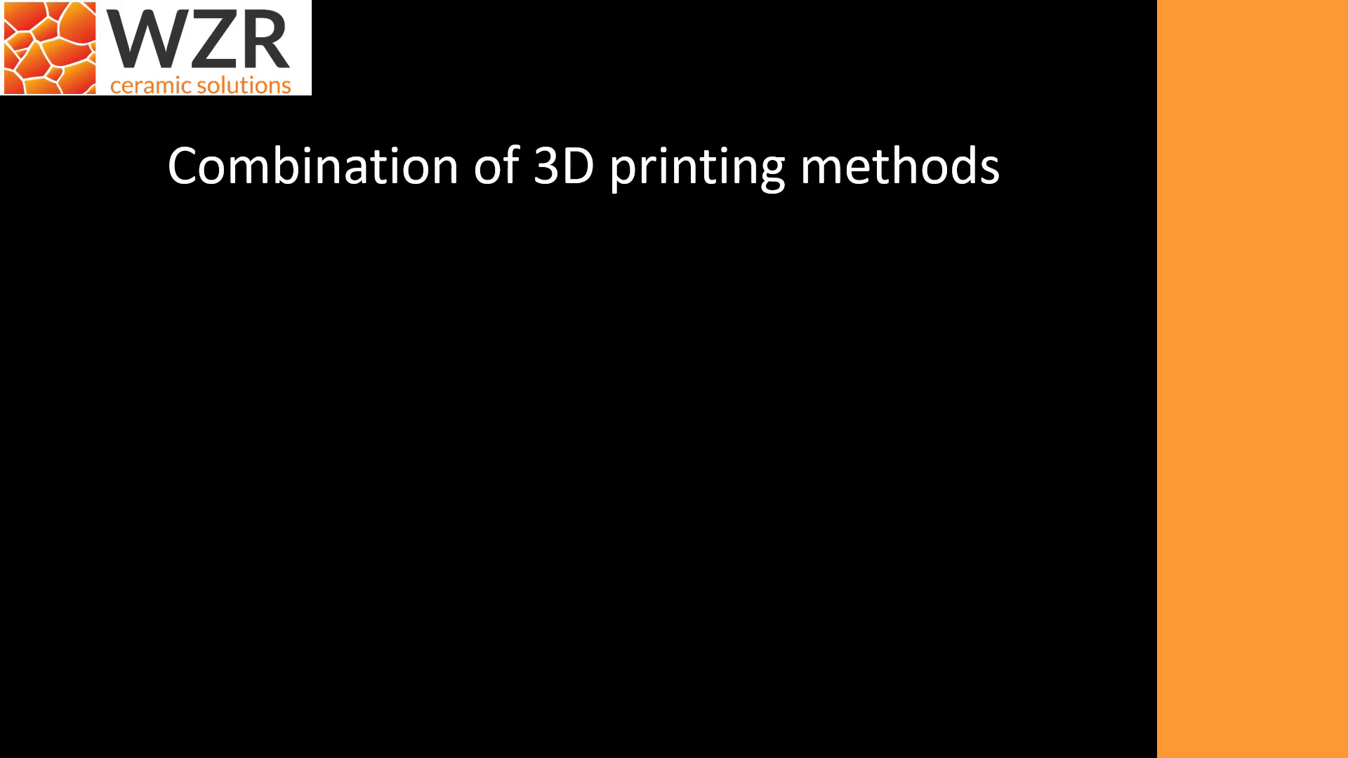 Combination of 3D printing methods